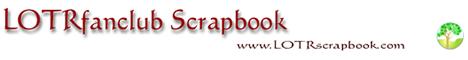 LOTRfanclub Scrapbook