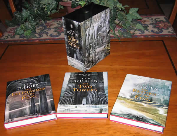 2002 Houghton Mifflin Lord Of The Rings Signed By Alan