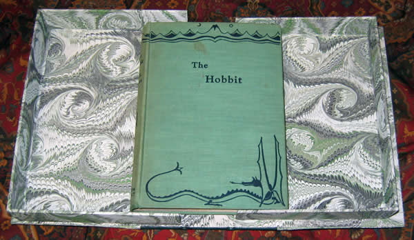 The hobbit or there and back again, by j. R. R tolkien, the.