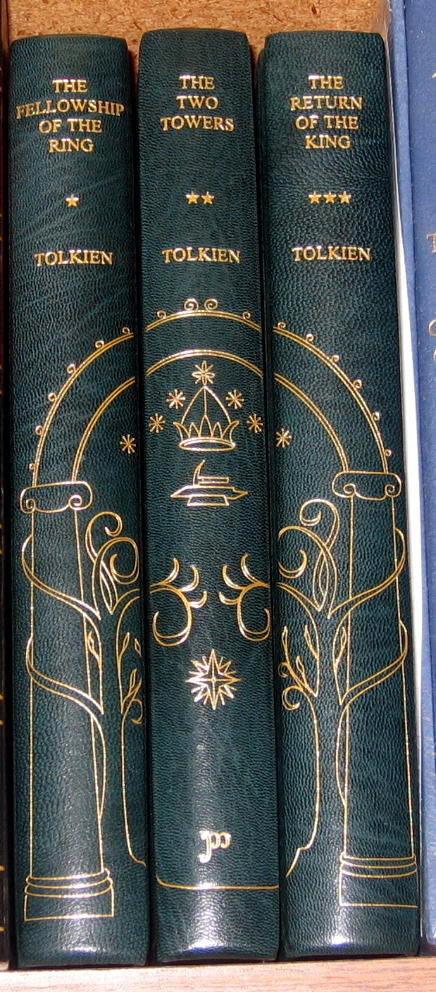 Custom Bound Tolkien Books Tolkien Fine Bindings Sold