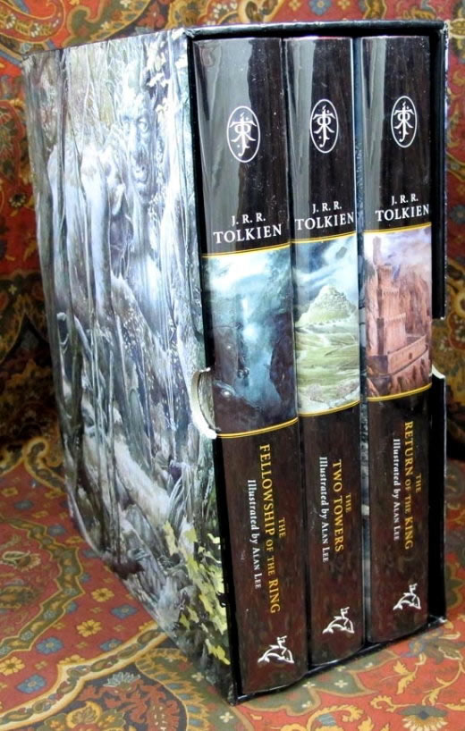 The Lord Of The Rings Illustrated By Alan Lee Publishers Slipcase