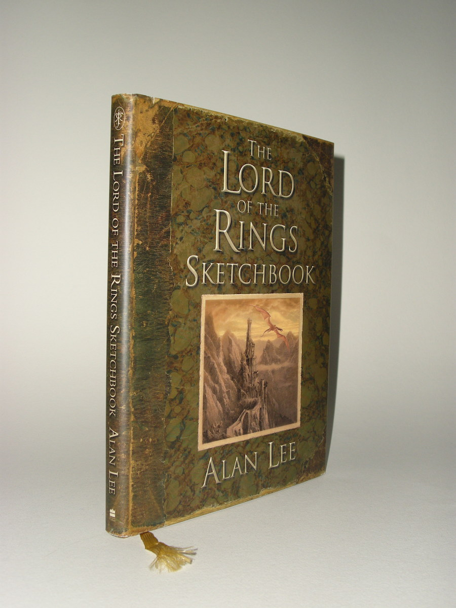 The Lord Of The Rings Sketchbook By Alan Lee 1st Edition