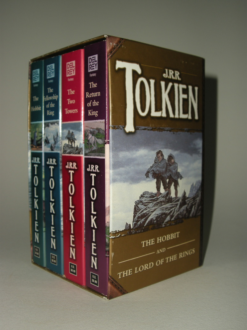 Lord Of The Rings Box Set Ballantine Books